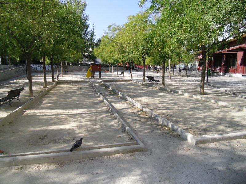 Petanca nº 2 IDE Parque de la Memoria
