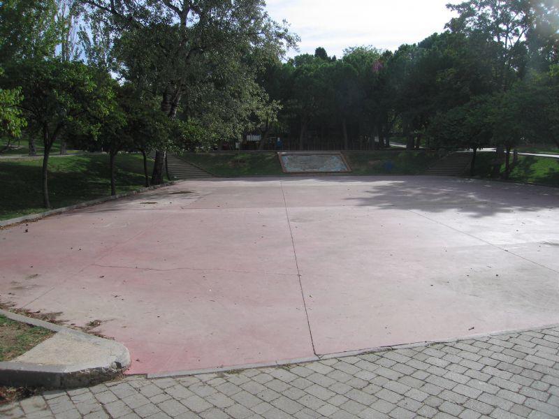 Patinaje IDE Parque José Antonio Labordeta