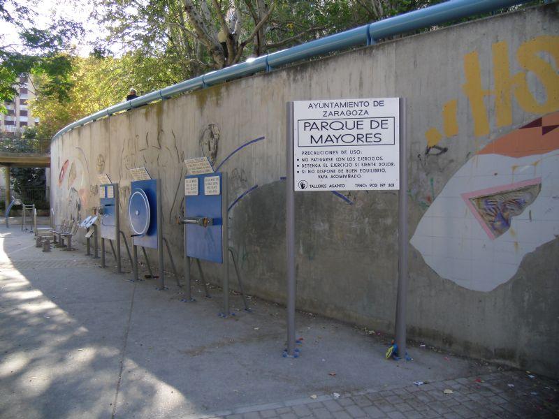 Estación de Gimnasia Senior IDE Parque de la Memoria