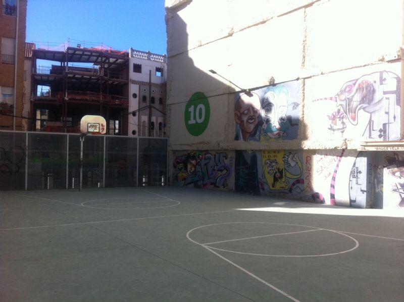 Baloncesto IDE Calle José Palafox [Fecha: 06/11/2012]