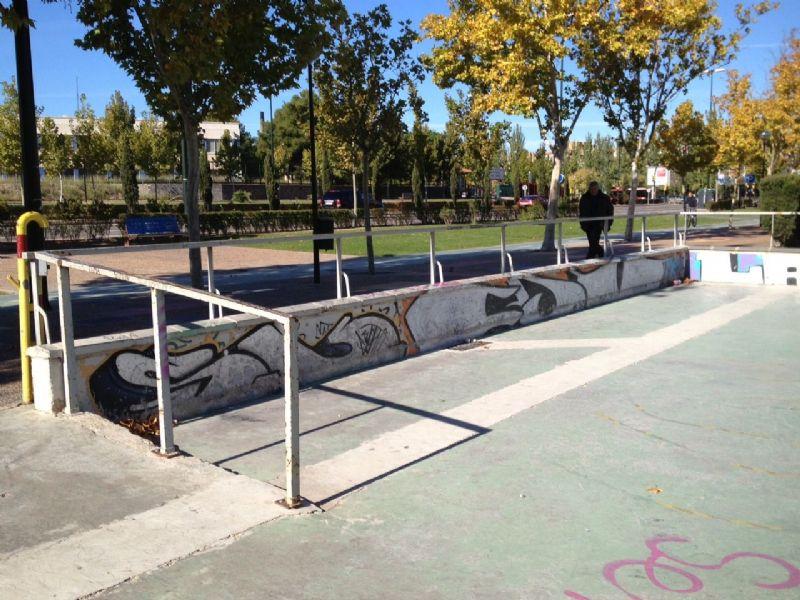 Skate IDE Vía Hispanidad [Fecha: 19/11/2012]
