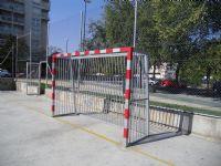 Portería. Fútbol Sala IDE Paseo Tierno Galván [IDE Paseo Tierno Galván]  [Fecha: 07/11/2011]