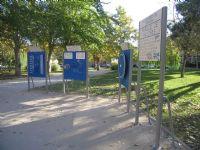 Estacion Giimnasia IDE Parque de la Taifa de Saracosta [Fecha: 09/11/2011]