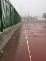 Limpieza Pista de Fútbol Sala. [Fecha: 09/01/2014]