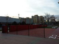 Instalación de vallado lateral. [Fecha: 24/01/2014]