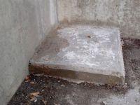 Eliminación de espárragos industriales y pavimentación para su protección. [Fecha: 10/02/2014]