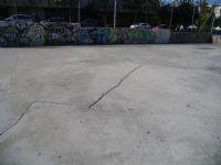 Estado de pavimento. Fútbol Sala IDE Paseo Tierno Galván [IDE Paseo Tierno Galván]  [Fecha: 07/11/2011]