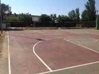 Vista general pista basket [Fecha: 25/05/2015]