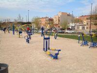 Estación gimnasia IDE Parque Crónica del Alba [IDE Parque Crónica del Alba] [Fecha: 07/04/2015]
