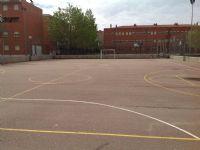 Vista pista baloncesto [Fecha: 10/04/2015]