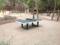 Vista zona tenis de mesa [Fecha: 05/10/2016]