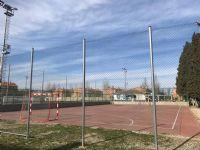 Vista general pista fútbol sala [Fecha: 07/02/2019]