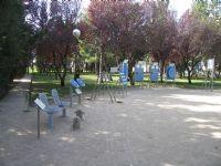 Estación gimnasia IDE Plaza las Vaquillas [Fecha: 29/11/2011]