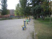 Estación gimnasia IDE Jardines de Atenas [Fecha: 30/11/2011]