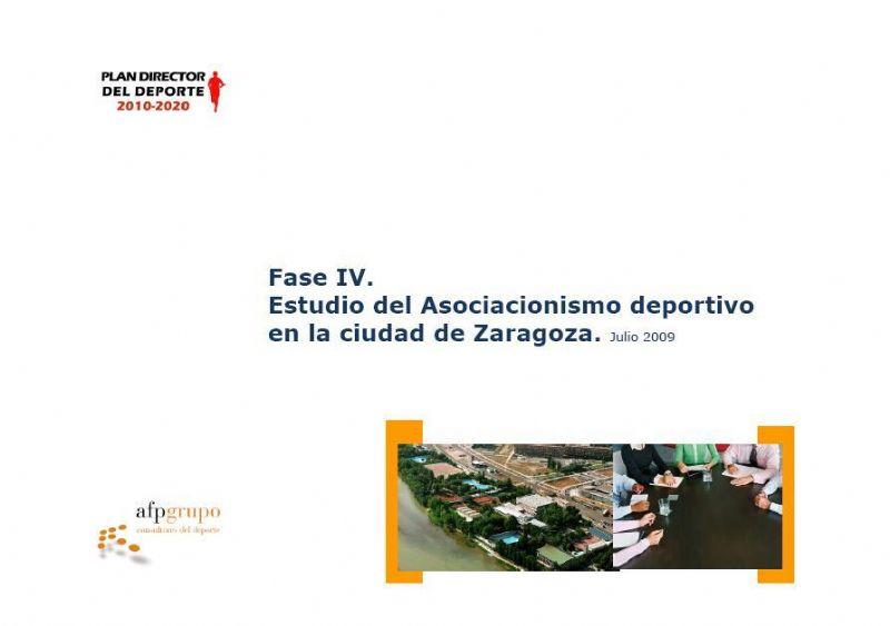 PLAN DIRECTOR DEL DEPORTE 2010-2020  -  INFORME DEL ASOCIACIONISMO DEPORTIVO EN LA CIUDAD DE ZARAGOZA