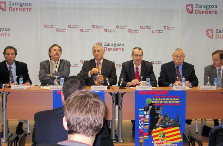 El pabellón Príncipe Felipe acoge la presentación del Campeonato y Copa de España de selecciones territoriales juveniles masculinas y femeninas