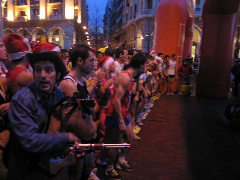 Fotos de la «San Silvestre Zaragoza» - 31 de diciembre de 2009