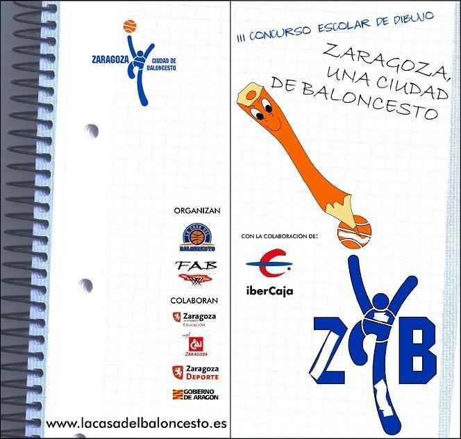 Ya puedes consultar los ganadores del III Concurso de Dibujo 'Zaragoza, una ciudad de baloncesto'