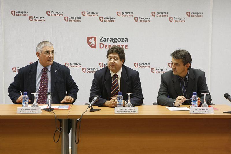 Presentado en rueda de prensa el «Programa de Reconocimientos médico-deportivos 08-09»