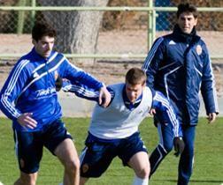 El Real Zaragoza vuelve a los entrenamientos