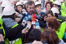 Belloch cree que la candidatura aragonesa tiene ventaja y no alberga