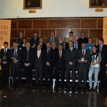 La Selección recibe la Medalla al Mérito Deportivo de Zaragoza