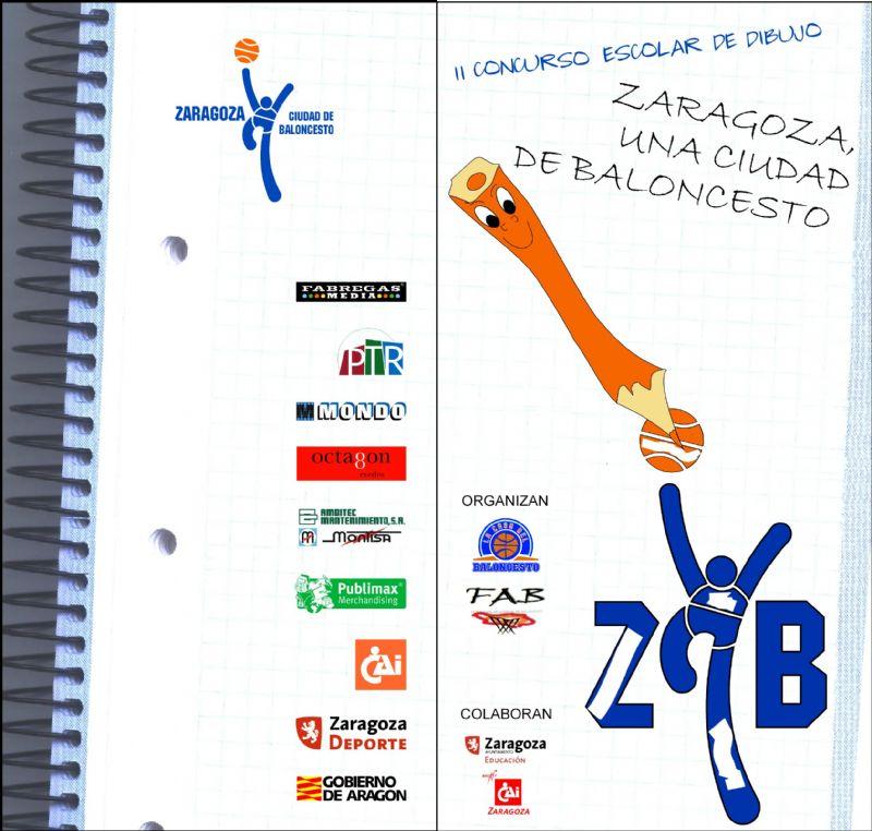 Consulta los Dibujos Ganadores del II Concurso de Dibujo «Zaragoza, una ciudad de Baloncesto» 2008