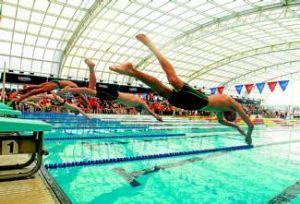 El CAI consigue 19 medallas en el Nacional de Natación Adaptada