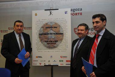 Presentada en Zaragoza la imagen de la XXXIII Copa del Rey de Balonmano