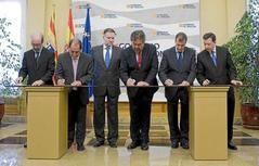 Firmado el Convenio de creación del Consorcio promotor de los Juegos de Invierno 2022