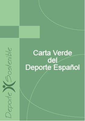 Zaragoza Deporte se adhiere a la Carta Verde del Deporte Español
