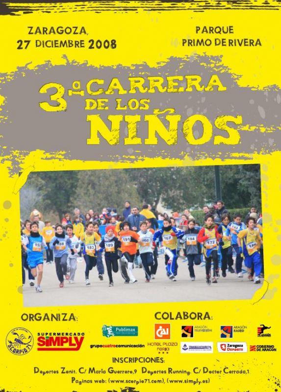 El Parque Primo de Rivera recibirá la 3ª Carrera de los Niños