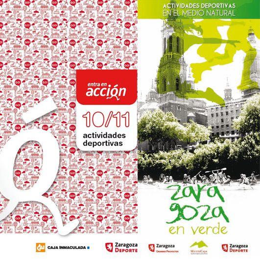 Actividades Deportivas Municipales. Programas 'Entra en Acción' y 'Zaragoza en Verde' 2010/2011