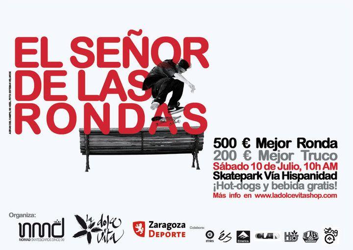 La empresa zaragozana Nomad Skateboards  celebrará la 1º competición internacional de Skateboard en Zaragoza