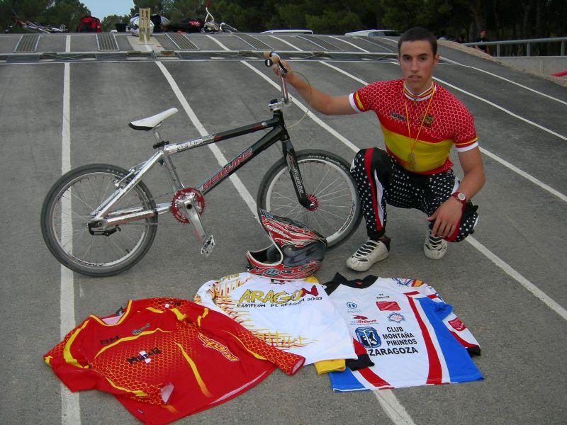 Un aragonés en los Juegos Olimpicos de la Juventud (Singapur 2010)