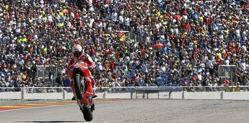 Más de 70.000 personas disfrutaron del mundial de motociclismo en Motorland Aragón