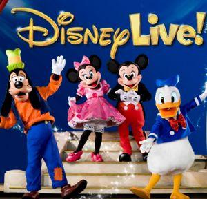 'Disney Live! Mickey's Music Festival' en Zaragoza, con el Patrocinio de Caja Inmaculada (CAI)