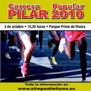 600 corredores participan en la Carrera del Pilar 2010