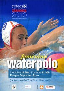 Resultados del Trofeo 'CAI- Ciudad de Zaragoza' de Waterpolo Femenino