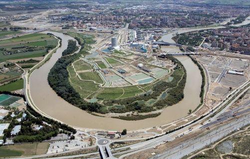 El Parque del Agua de Zaragoza tendrá un complejo de fútbol 5 y pádel
