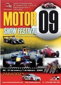 La 6ª edición del Motor Show Festival se celebrará los días 30 y 31 de Enero y 1 de Febrero en la Feria de Zaragoza.
