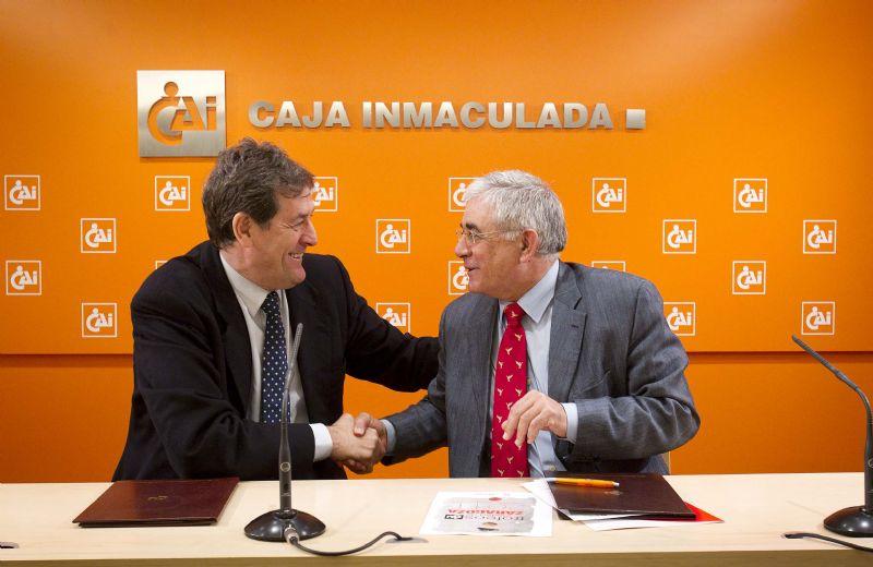 Caja Inmaculada y Ayuntamiento renuevan el convenio de patrocinio de los 'Trofeos CAI-Ciudad de Zaragoza'