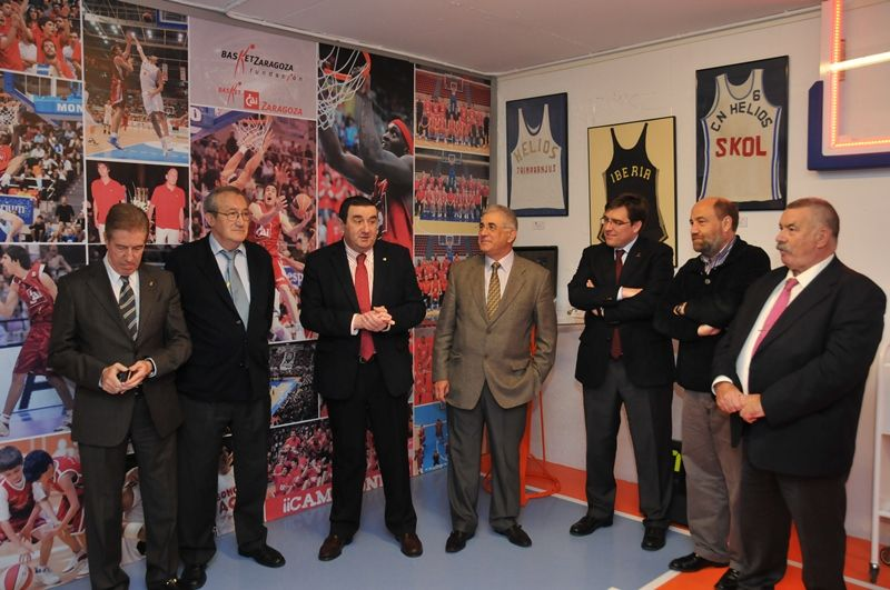Inauguración de «La Casa del Baloncesto» en el Pabellón «Príncipe Felipe»