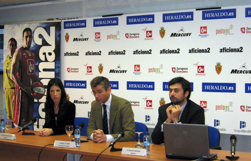 Nace «Aficiona2», una iniciativa donde los equipos deportivos aragoneses podrán crear su web