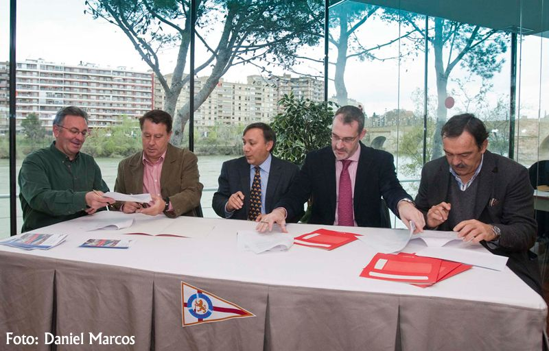 El Club Náutico potenciará el uso deportivo y respetuoso con el medio ambiente del Ebro