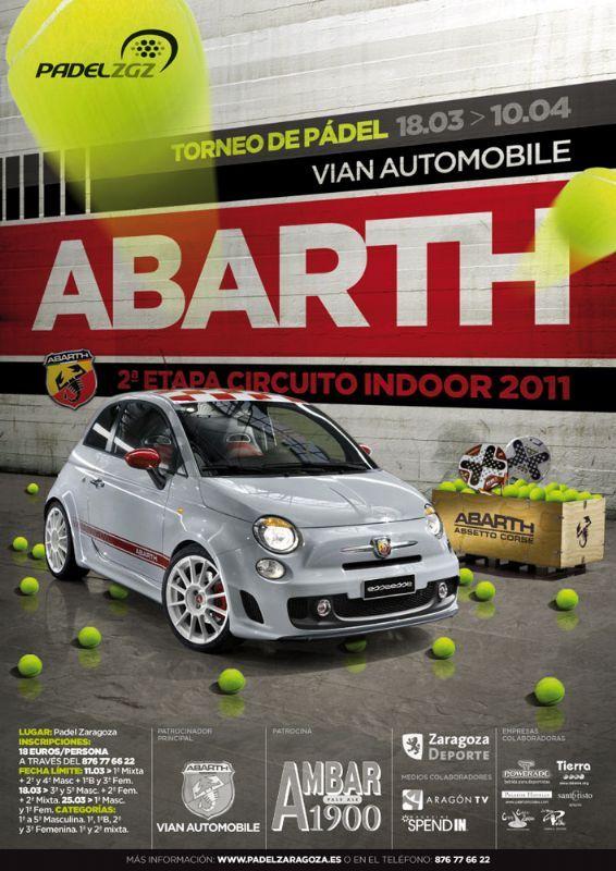 Comienza el Torneo de Pádel «Abarth – Vian Automobile»