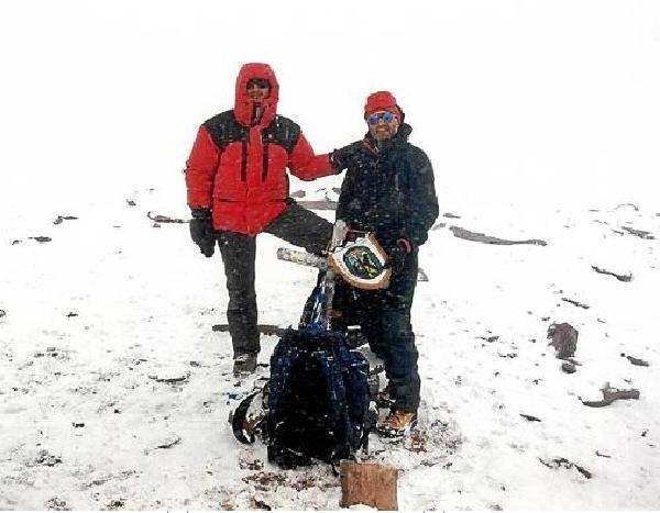 «Es un reto apasionante. Es la primera vez que se realiza una expedición aragonesa a este destino»