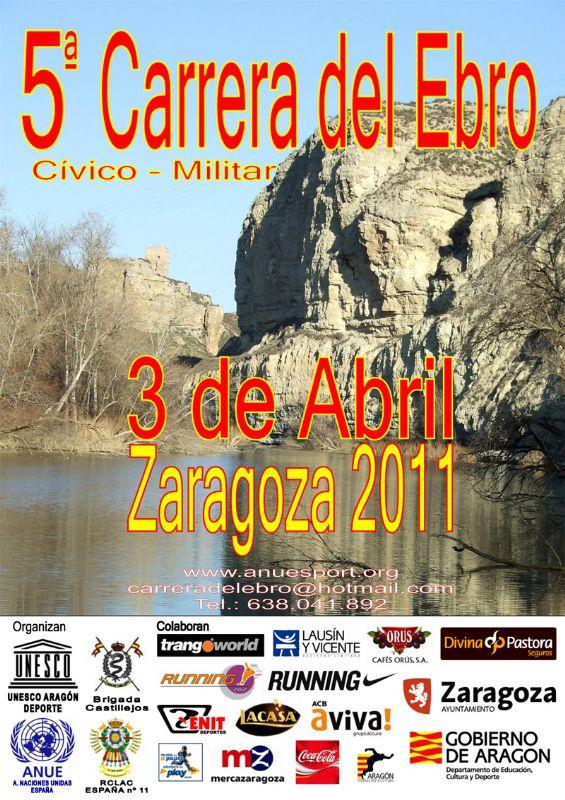 La V Carrera del Ebro ya cuenta con más de 1.200 corredores inscritos