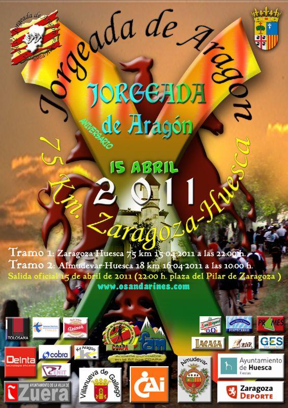 Os Andarines d'Aragón presentan la Jorgeada 2011
