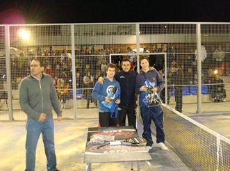 Pádel Zaragoza organiza un torneo para menores con el patrocinio de «Frutolandia»